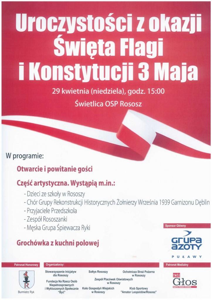 plakat świeto flagi 2018