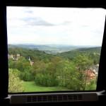 Widok z REGIO Kamieńczyk do Szklarskiej Poręby Górnej