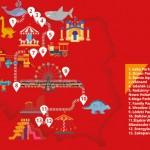 POLREGIO na Dzień Dziecka 2019_mapa